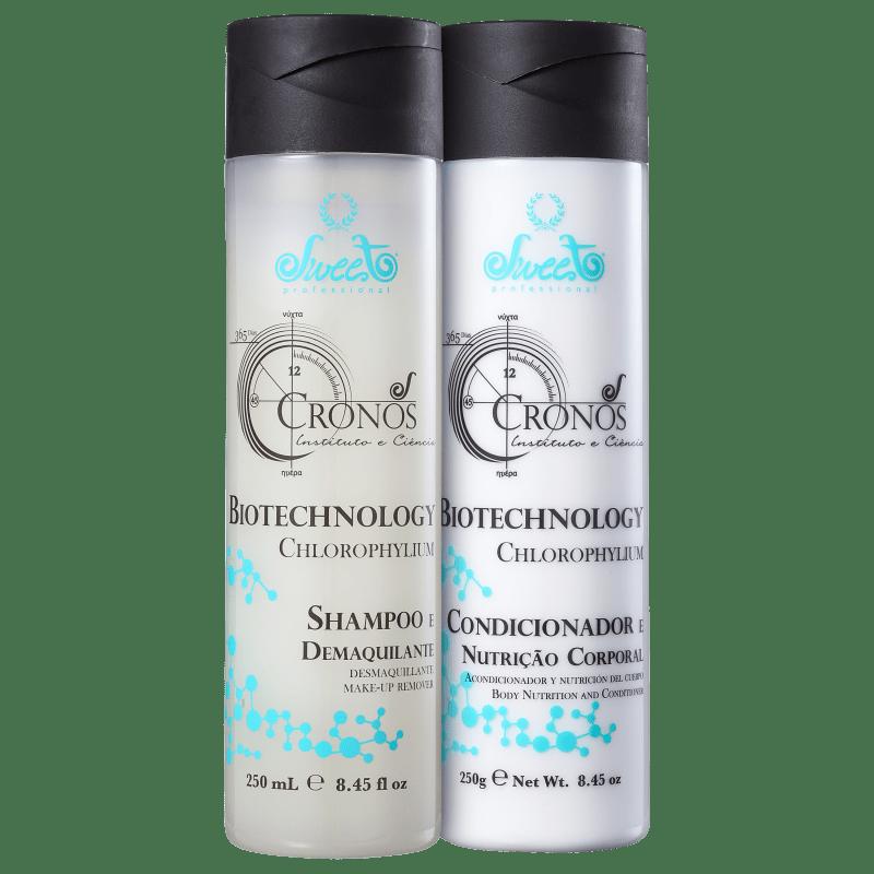Kit Sweet Hair Cronos Nutrição Corporal Duo (2 Produtos)