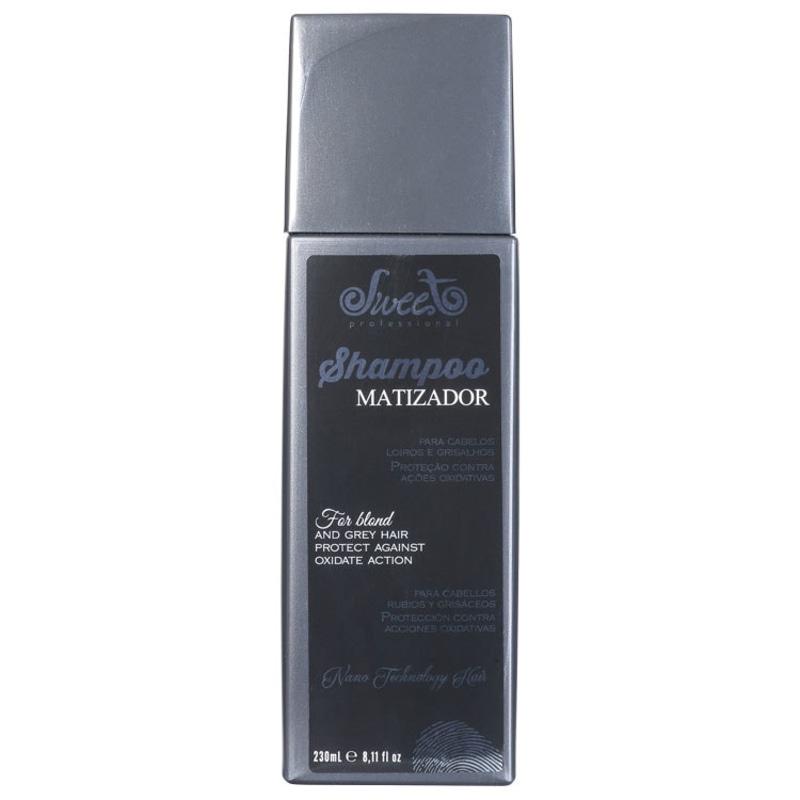 Sweet Hair Kiss Me Platinum Silver - Shampoo Matizador 250ml