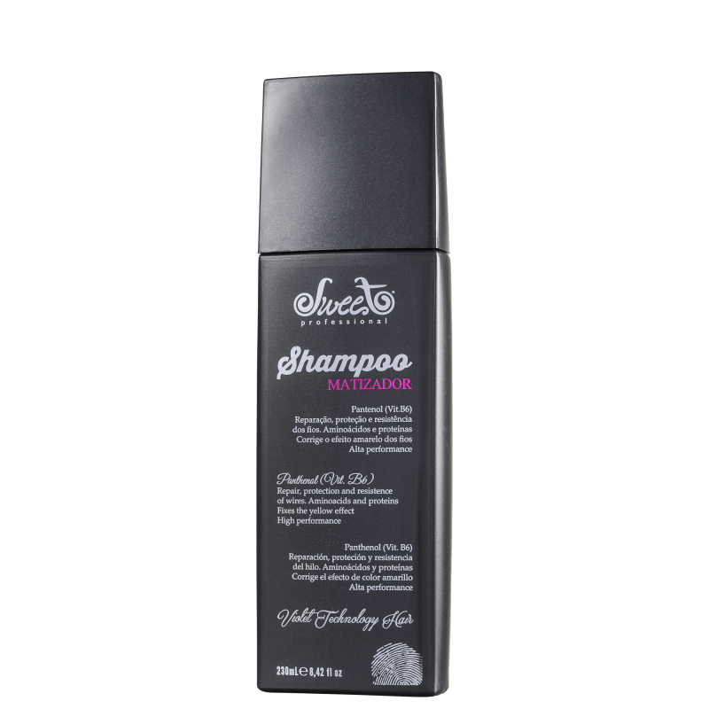 Sweet Hair Kiss Me Platinum Silver - Shampoo Matizador 250ml