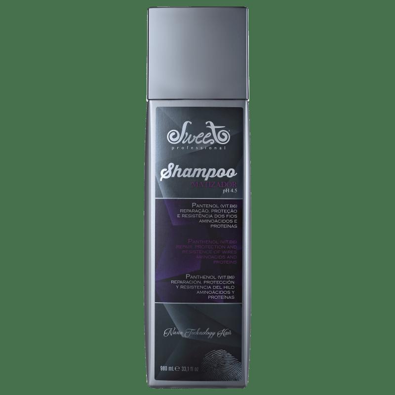 Sweet Hair Merci Platinum - Shampoo Matizador 980ml