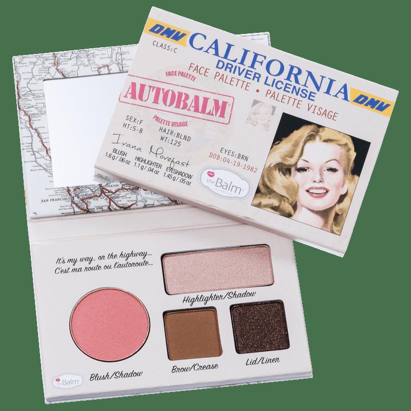 the Balm Autobalm California - Paleta de Maquiagem 4,15g