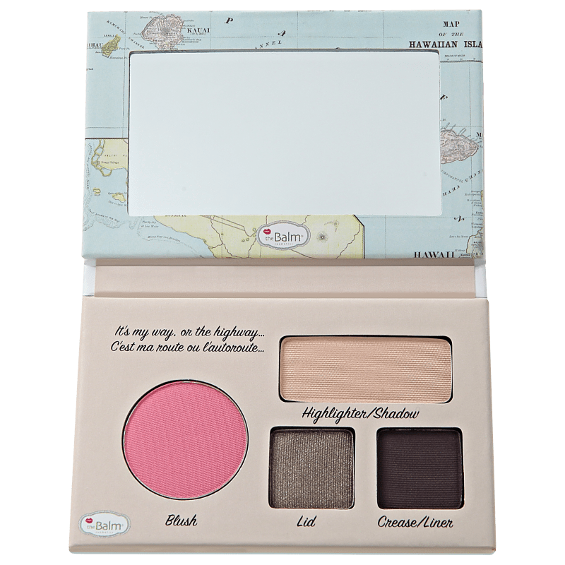 the Balm Autobalm Eyeshadow Palette Hawaii Driver License - Paleta de Sombras e Blush 4,15g