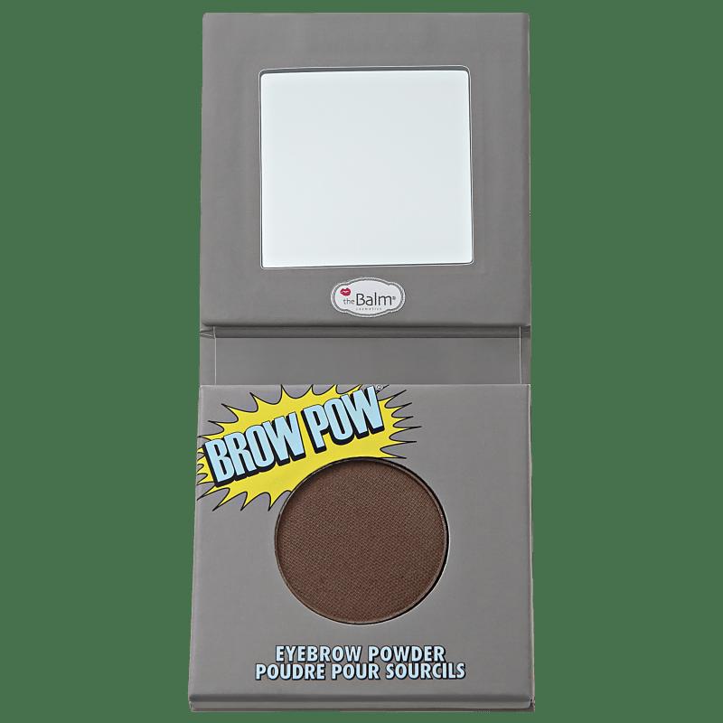 the Balm Brow Pow Dark Brown - Sombra para Sobrancelha 0,85g
