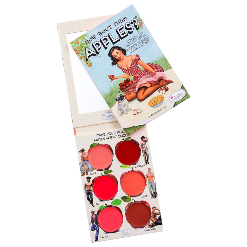 the Balm How'Bout Them Apples - Paleta de Batons 20g