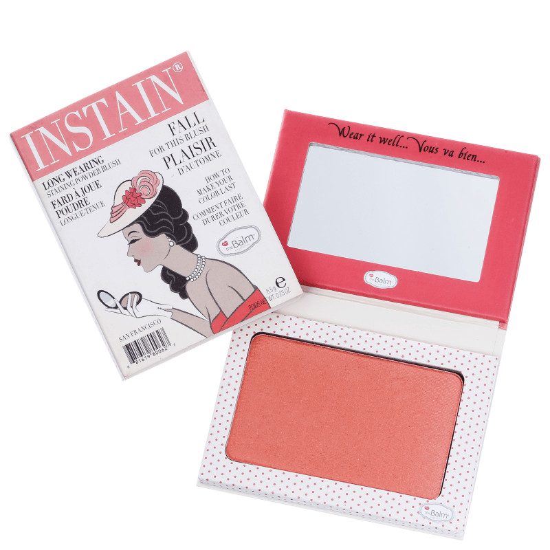 the Balm Instain Swiss Dot Peach - Blush Luminoso 5,5g