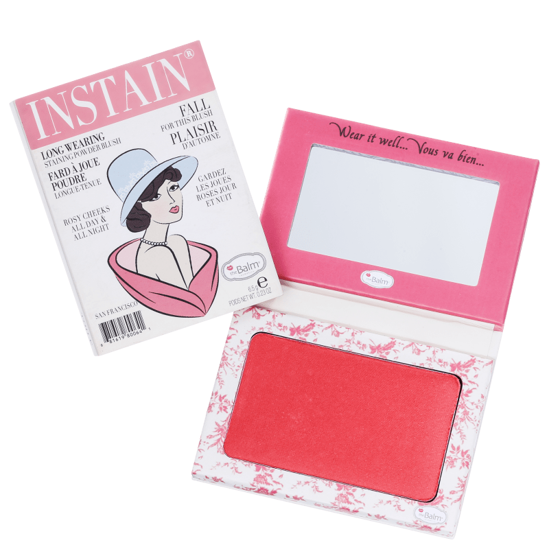the Balm Instain Toile Strawberry - Blush Luminoso 5,5g