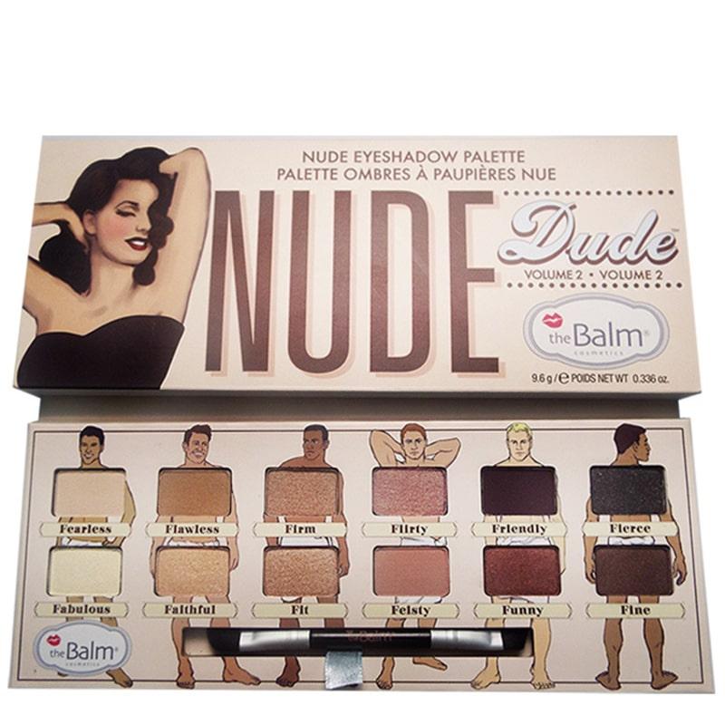 the Balm Nude Dude Volume 2 - Paleta de Sombras 9,6g