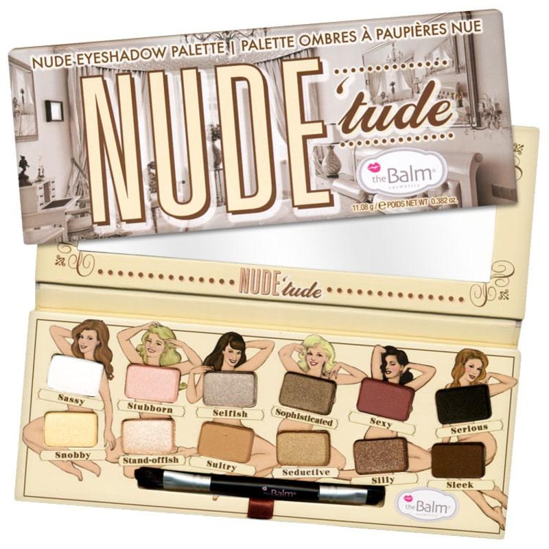 the Balm Nude' Tude - Paleta de Sombras 11,08g