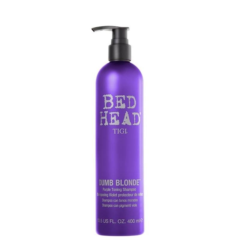 TIGI Bed Head Dumb Blonde Purple Toning - Shampoo 400ml
