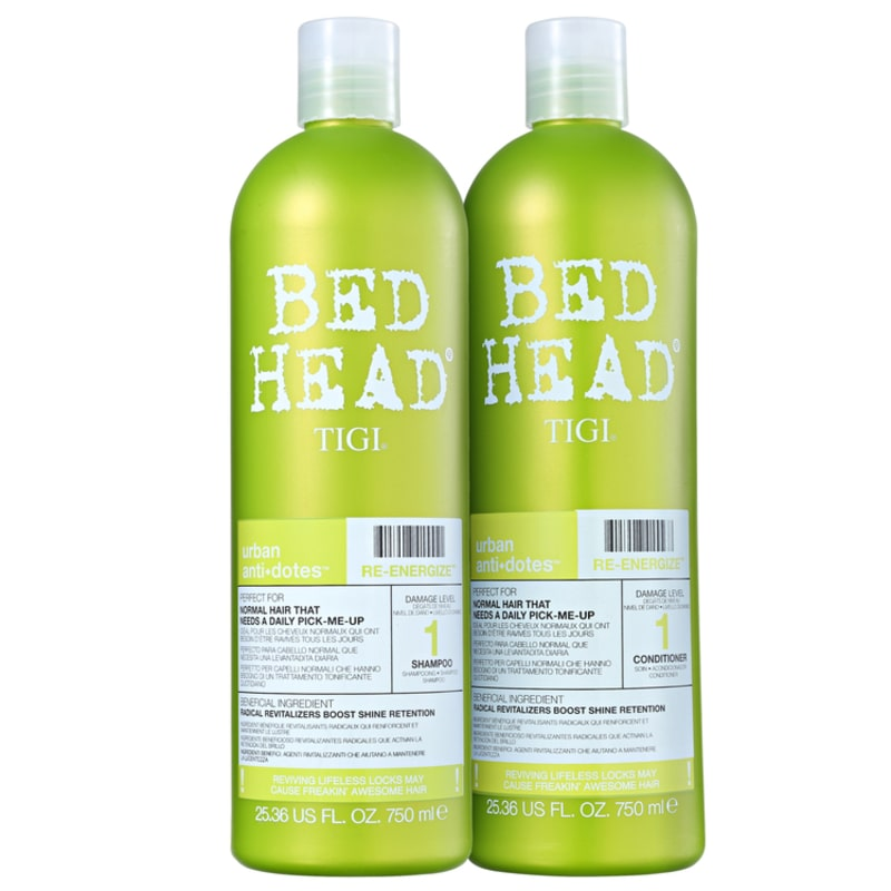 TIGI Bed Head Urban Anti+Dotes #1 Re-Energize Duo Salon Kit (2 Produtos)