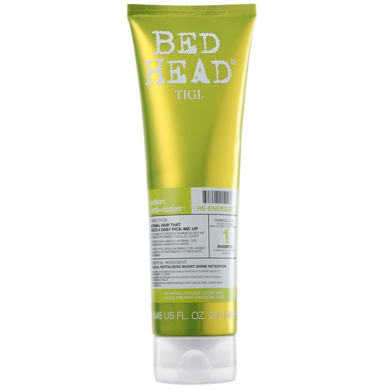 TIGI Bed Head Urban Anti+Dotes #1 Re-Energize  - Shampoo 250ml