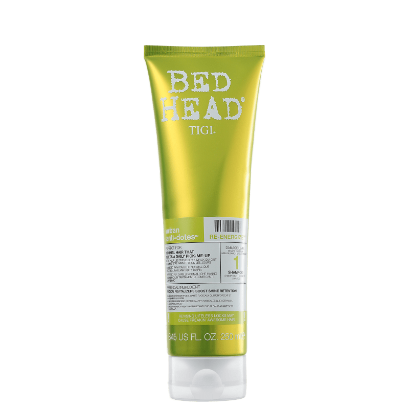 TIGI Bed Head Urban Anti+Dotes #1 Re-Energize  - Shampoo 250ml