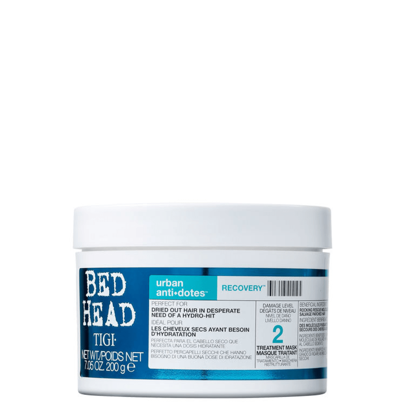 TIGI Bed Head Urban Anti+Dotes #2 Recovery Treatment Mask - Máscara de Tratamento 200ml
