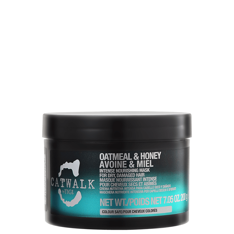 TIGI Catwalk Oatmeal & Honey Intense Nourishing Mask - Máscara de Tratamento 200g