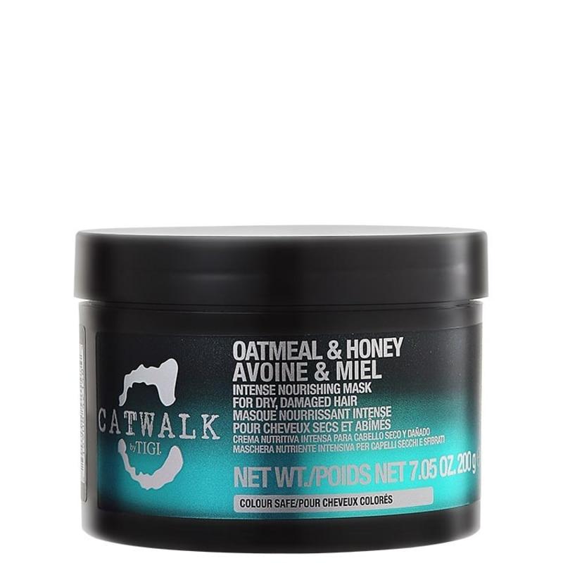 TIGI Catwalk Oatmeal & Honey Intense Nourishing Mask - Máscara de Tratamento 200g