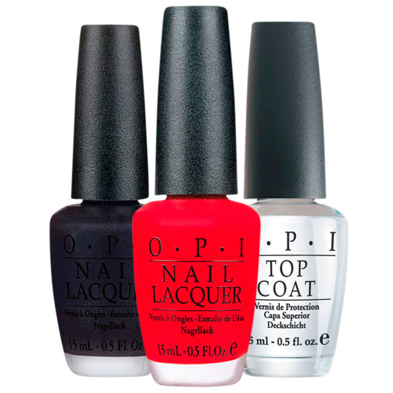 Kit OPI Top Sapphire Brazil (3 produtos)