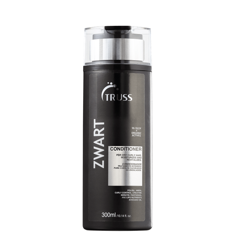 Truss Active Zwart - Condicionador 300ml