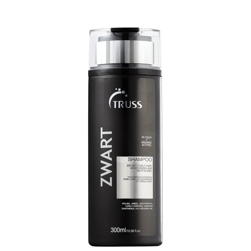 Truss Active Zwart - Shampoo 300ml