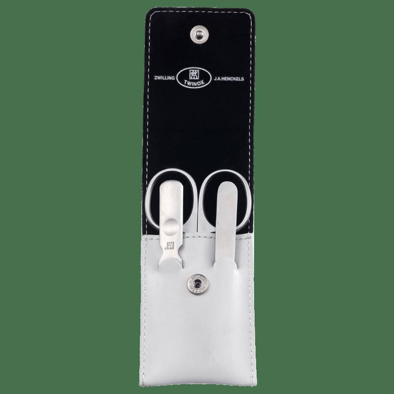 Tweezerman Estojo de Manicure Com Tesoura - 3 Produtos