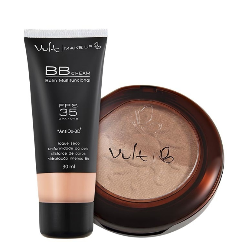 Kit Vult Make Up Balm Duo 02 (2 produtos)