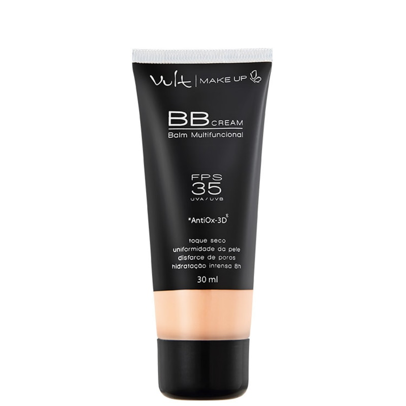 Vult Make Up Balm Multifuncional FPS 35 Rosa - BB Cream 30ml