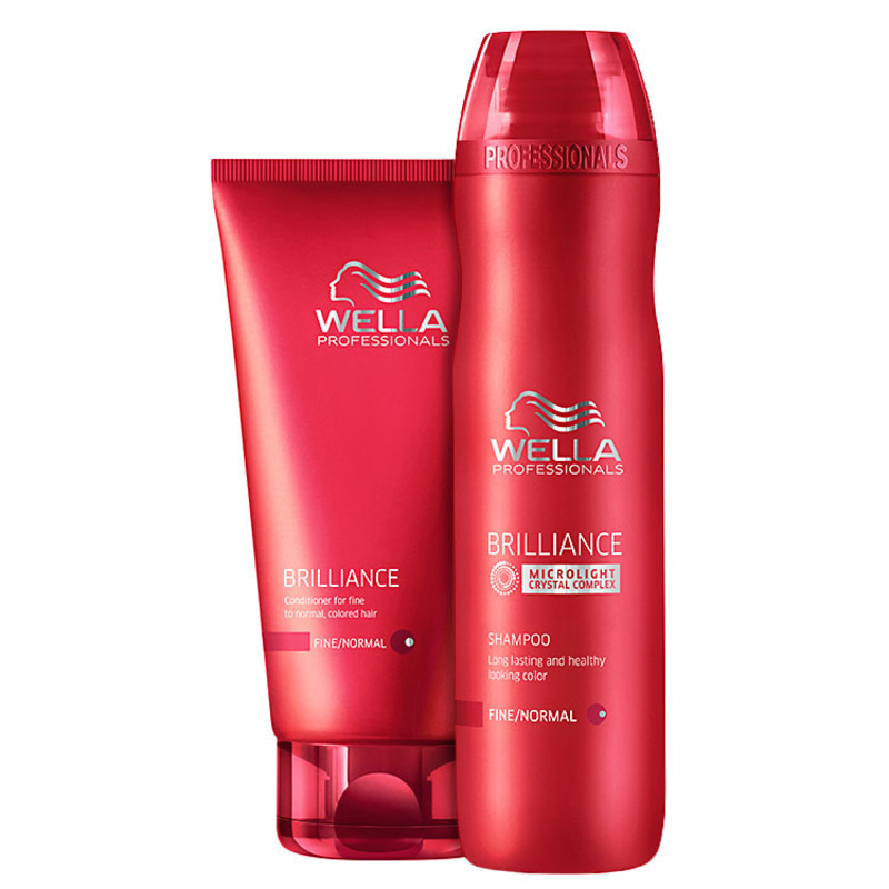 Wella Professionals Brilliance Duo Kit (2 Produtos)