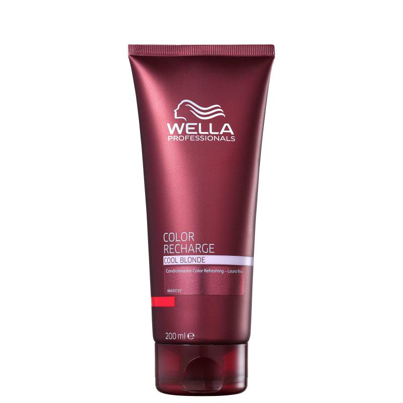 Wella Professionals Color Recharge Cool Blonde - Condicionador 200ml