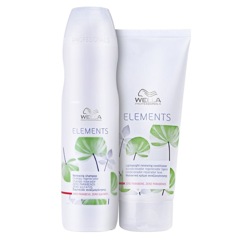 Kit Wella Professionals Elements Renewing Duo (2 Produtos)
