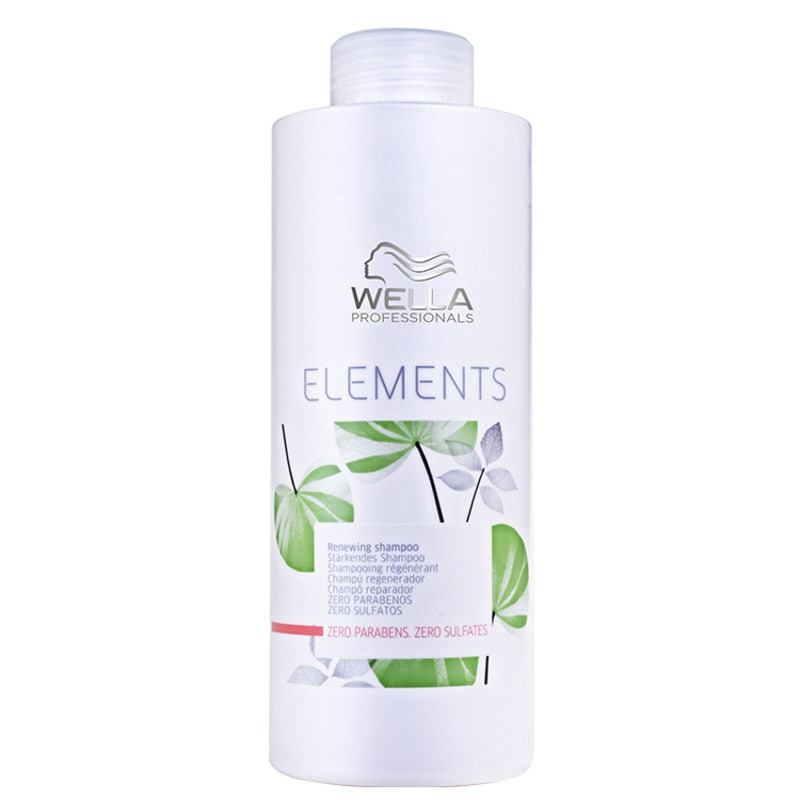Wella Professionals Elements Renewing - Shampoo sem Sulfato 1000ml