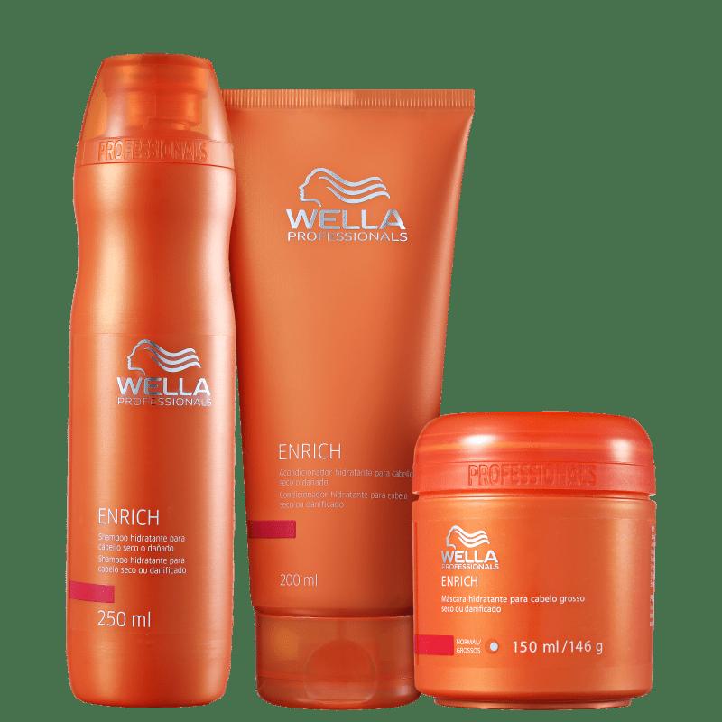 Kit Wella Professionals Enrich (3 Produtos)