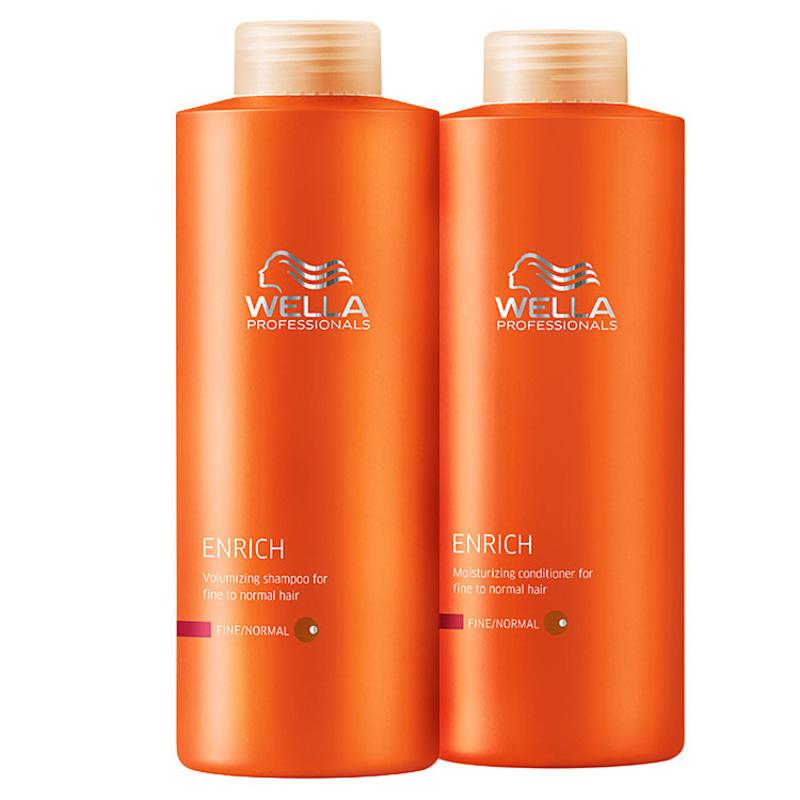 Wella Professionals Enrich Litro Duo Kit (2 Produtos)