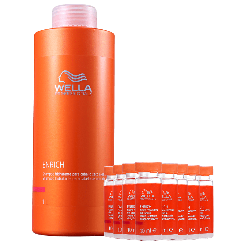 Wella Professionals Enrich Litro Repair Kit (2 Produtos)