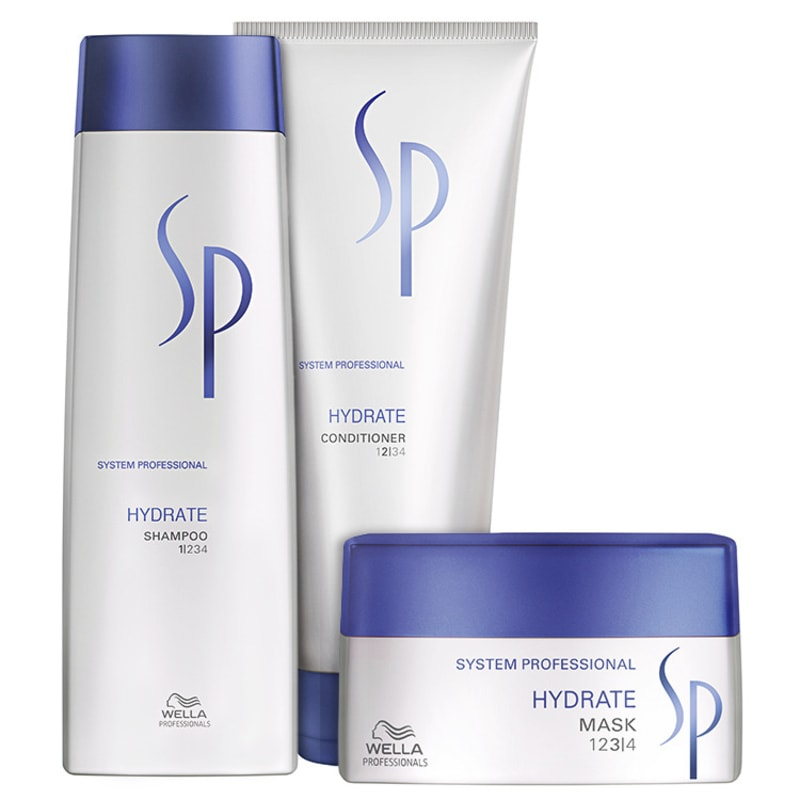 SP System Professional Hydrate Kit (3 Produtos)