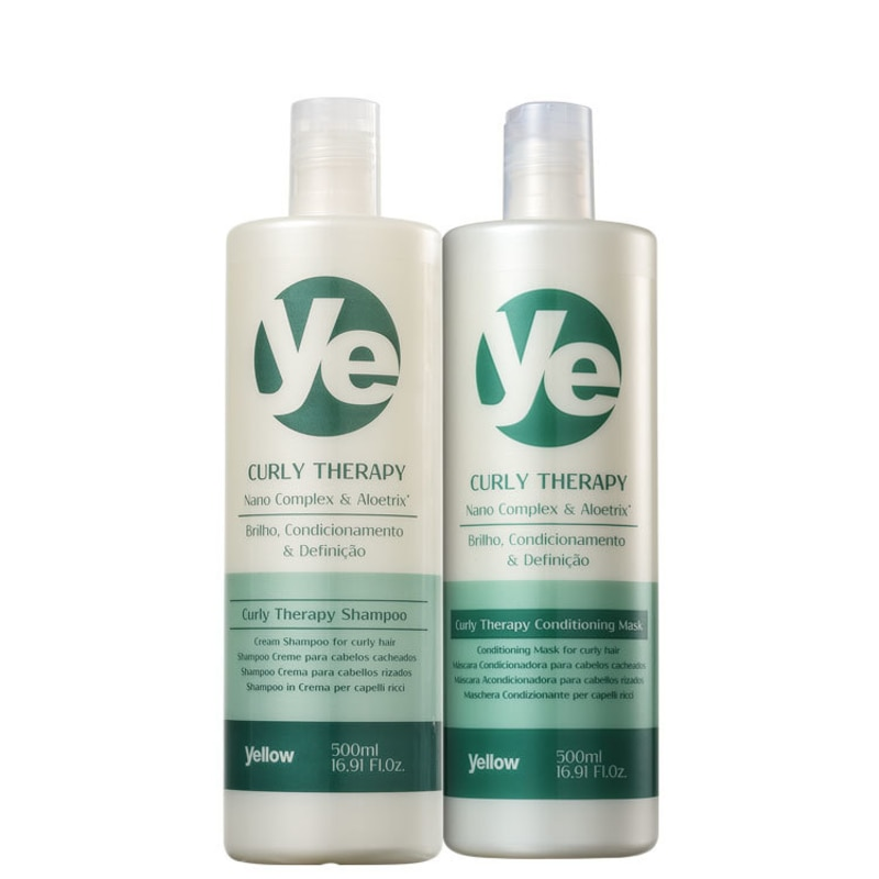 Yellow Curly Therapy Duo Kit (2 Produtos)