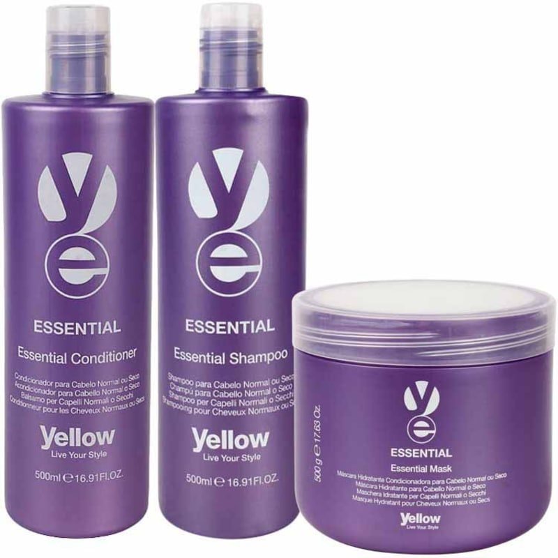 Yellow Essential Kit (3 Produtos)