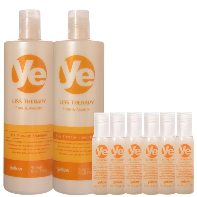 Yellow Liss Therapy Lotion Kit (3 Produtos)