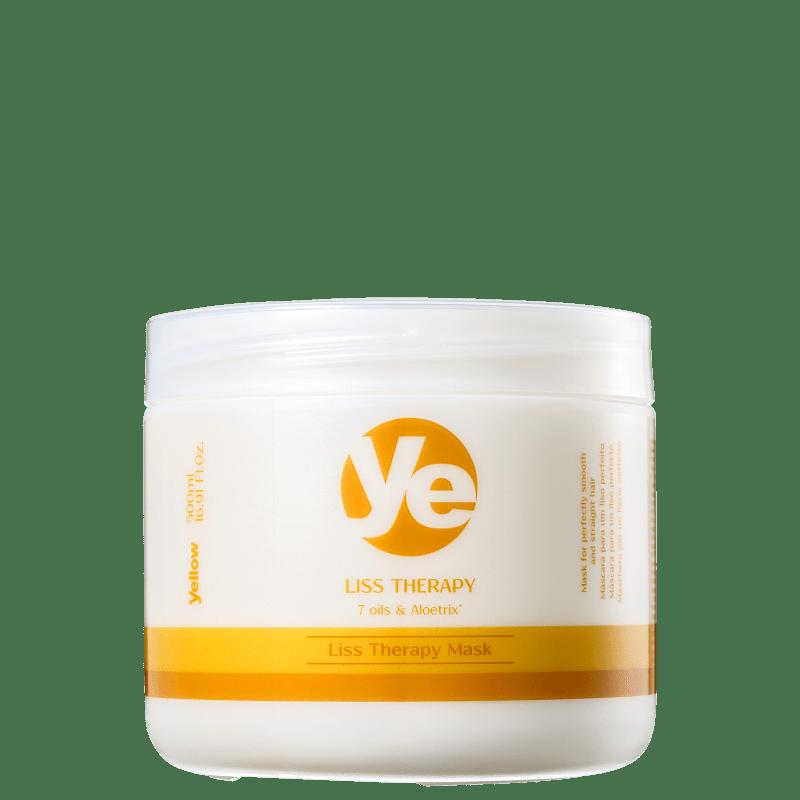 Yellow Liss Therapy Mask - Máscara de Tratamento 500g