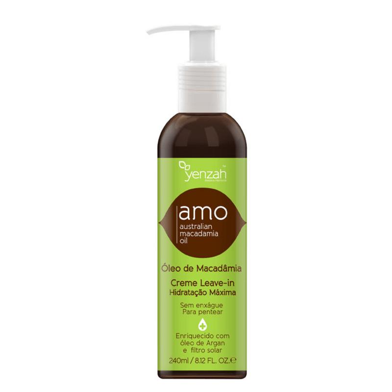 Yenzah Amo Australian Macadamia Oil Creme Leave-In - Leave-In 240ml