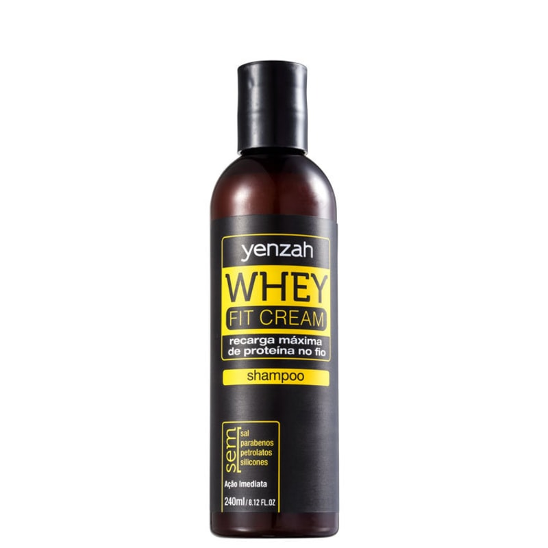 Yenzah Power Whey Fit Cream Potência Capilar - Shampoo 200ml