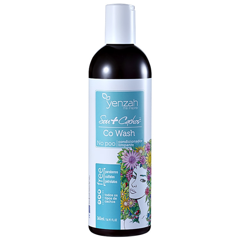 Yenzah Sou + Cachos - Condicionador Co-Wash 365ml
