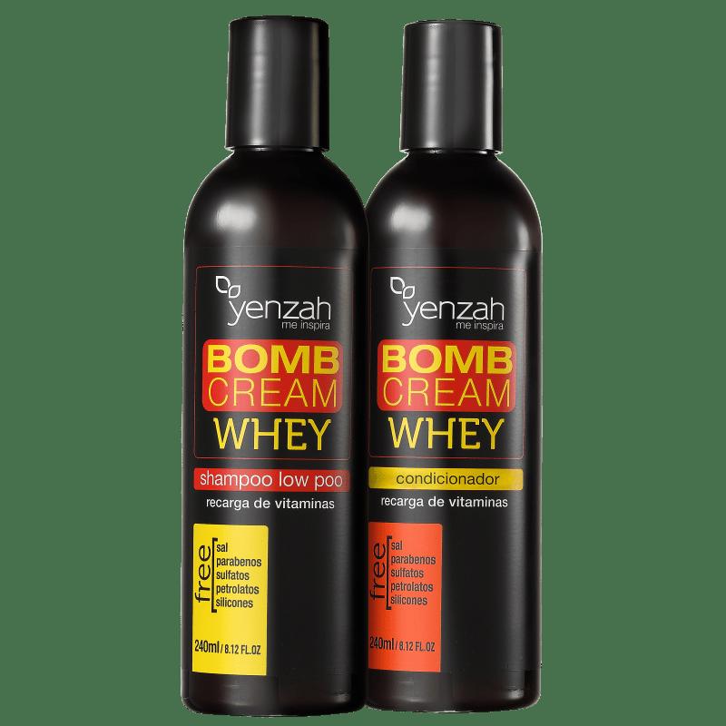 Yenzah Whey Bomb Cream Duo Kit (2 Produtos)