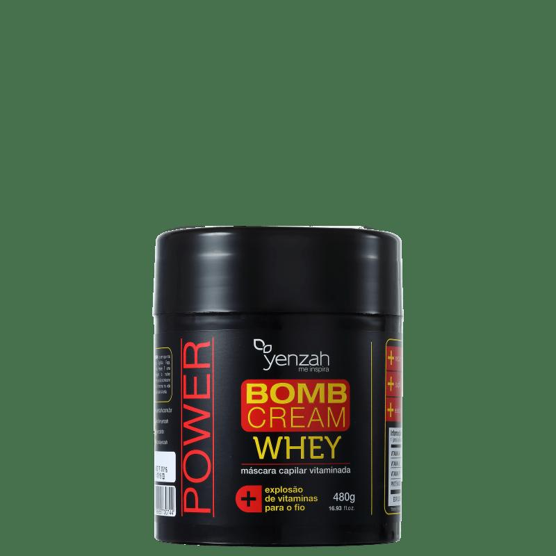 Yenzah Whey Bomb Cream - Máscara de Tratamento 480g