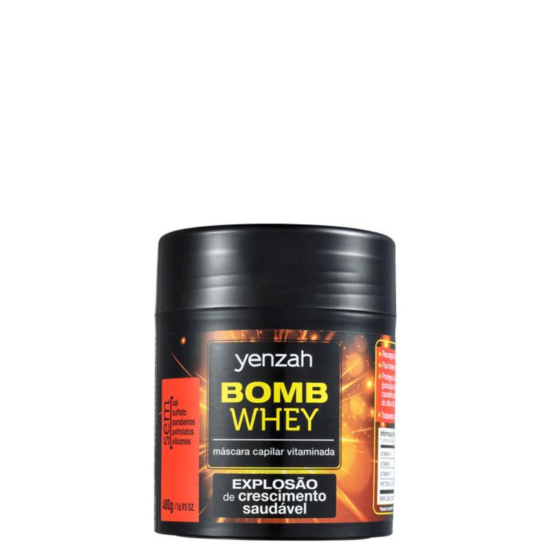 Yenzah Power Whey Bomb Cream - Máscara Capilar 480g