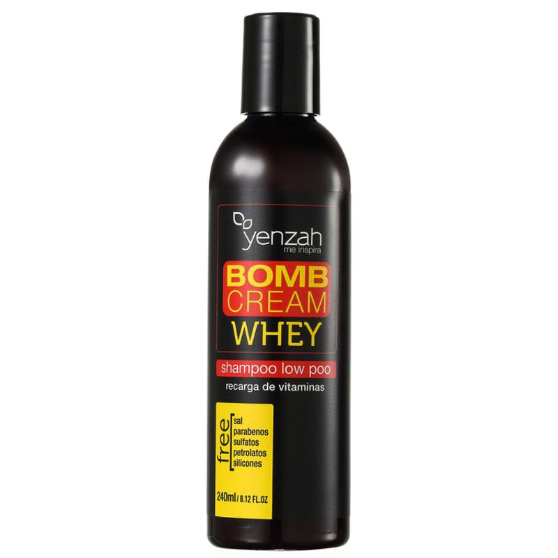 Yenzah Bomb Cream Whey Explosão de Crescimento - Shampoo 240ml
