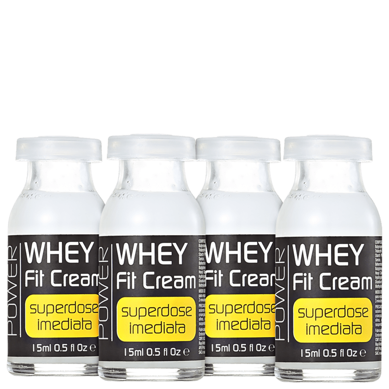 Yenzah Whey Fit Cream - Ampola 4x15ml