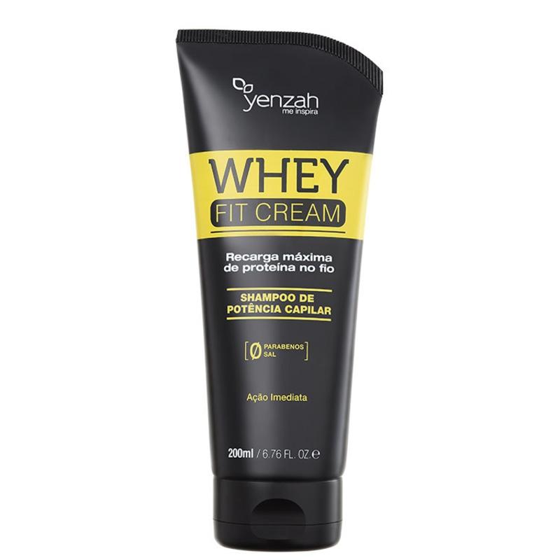 Yenzah Power Whey Fit Cream Potência Capilar - Shampoo 200ml