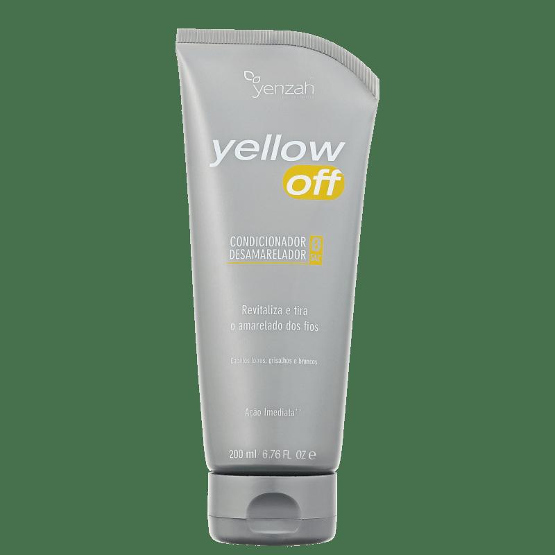 Yenzah Yellow Off Condicionador Desamarelador - Condicionador 200ml