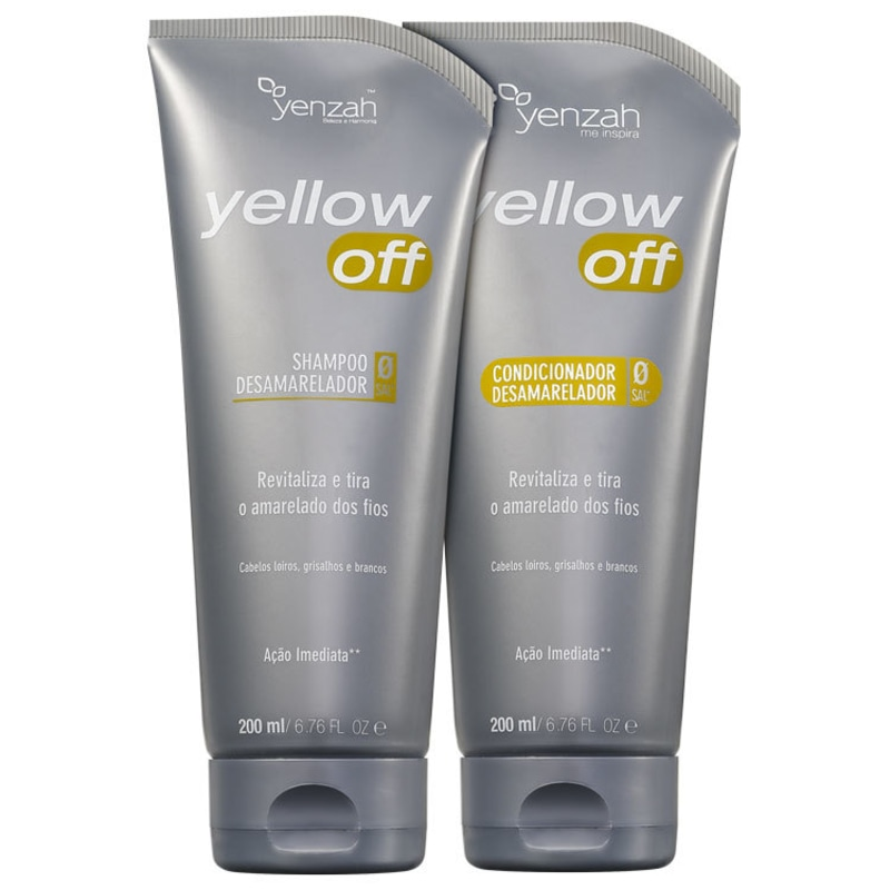 Yenzah Yellow Off Duo Kit (2 Produtos)