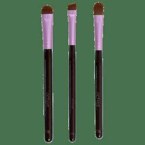 Kit Eye Brushes De Pincéis (3 Produtos)