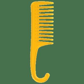 Color Comb Mook Amarelo - Pente